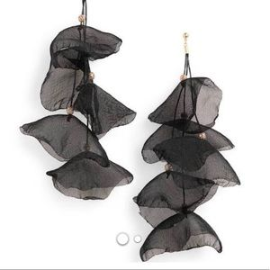 Stella and Ruby Chiffon statement earrings